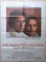 Bobby Deerfield, Spanish Movie Poster, Al Pacino, Marthe Keller, '77